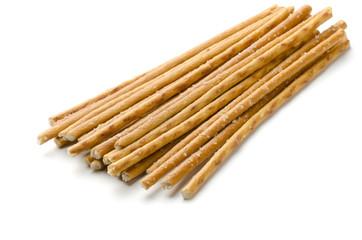 Salty baked breadsticks