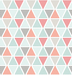 Geometric seamless pattern, can be used as background