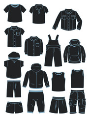 Clothing for little boys