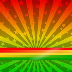 hintergrund regenbogenfarben reggae I