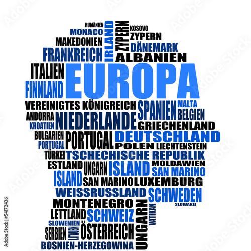 kopf schlagwoerter europa I