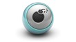 Bomb icon on ball. Looping.