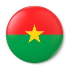 Burkina Faso Pin-back