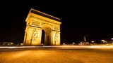 Arc de triomphe, Paris timelapse video