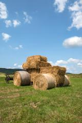 Strohballen - Traktor