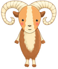 urial cartoon character