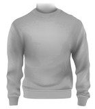 Man sweatshirt template