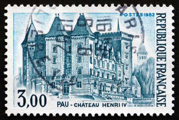 Postage stamp France 1982 Castle of Henry IV, Pau