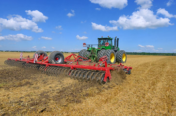Processing of soil cultivator,