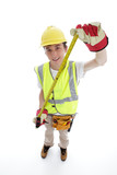 Apprentice builder or carpenter