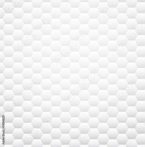 White textured honeycomb background.
