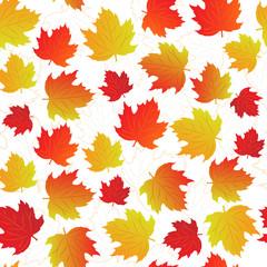 maple-leaf seamless pattern
