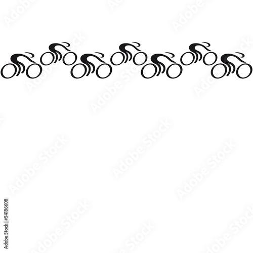 Foto op Plexiglas F1 Bicycle Race