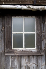 Old Window in Rural House