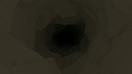 Animated Descent Into Dark Cave Mine Shaft BG