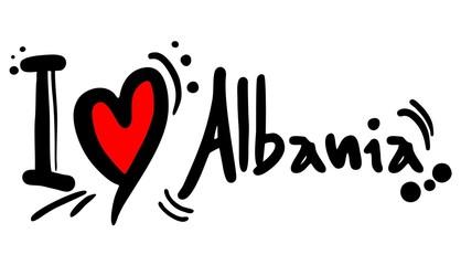 Albania love