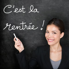 Cest la Rentree Scolaire - French back to school