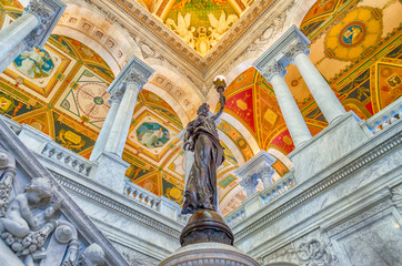 Library of Congress Main Hall Washington DC