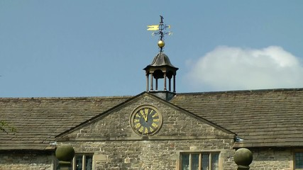 Clock Tower - Tissington Hall, Derbyshire, England