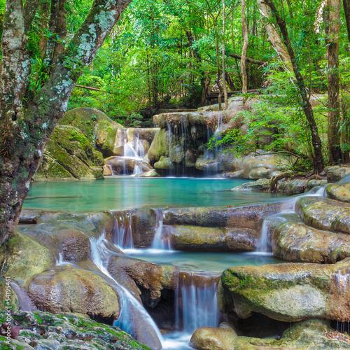 Fototapeta Erawan Waterfall
