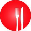 rot Restaurant Koch Logo