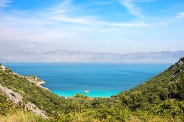Anfahrt zur Divna Bucht - Süddalmatien