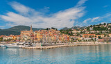 Menton on the Cote d'azur