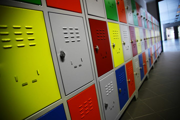 Colored Lockers