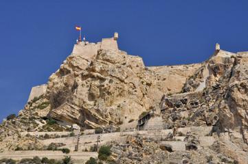 Castle of Santa Barbara, Alicante (Spain)