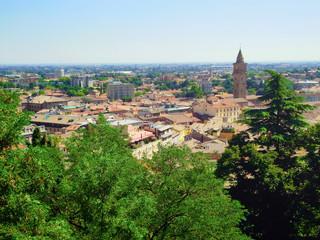 Vista Panoramica di Cesena (FC), Emilia Romagna, Italy
