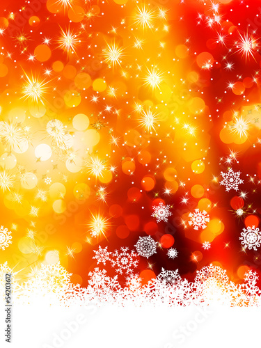 Multicolor abstract christmas background. EPS 10