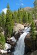 Alberta falls, Rocky Mountain National Park, CO, USA