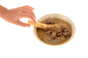 Mutton  Soup, A Favorite Soup In South East Asia