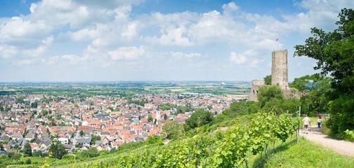 Strahlenburg in Schriesheim