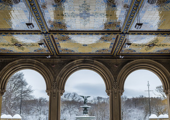 Bethesda Terrace in Central Park, New York City