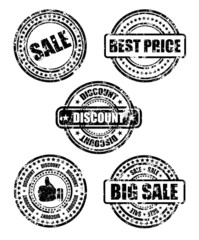 sale business stamp set