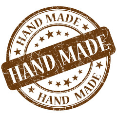 hand made brown stamp