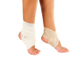leg bandage isolated