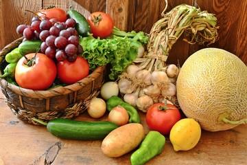 Sebze ve meyve sepeti