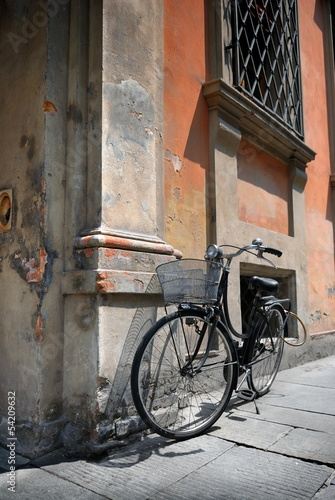Italian old-style bicycle