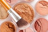 Fototapety Face powder and brush