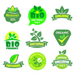Bio - Ecology - Natural icon set