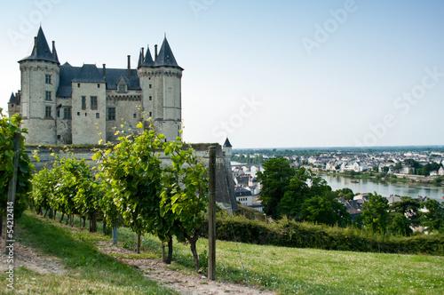 Papiers peints Chateau Château de Saumur