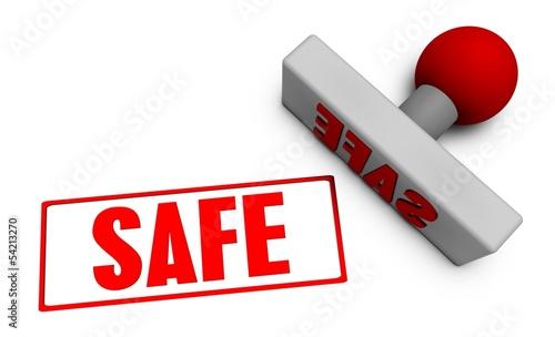 Safe Stamp