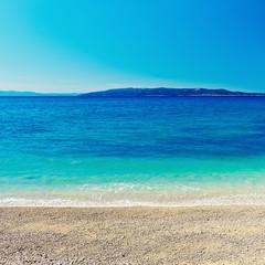 Amazing sea bay background