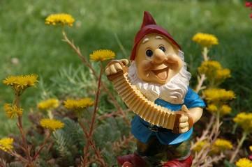 Gartenzwerg verbreitet gute Laune