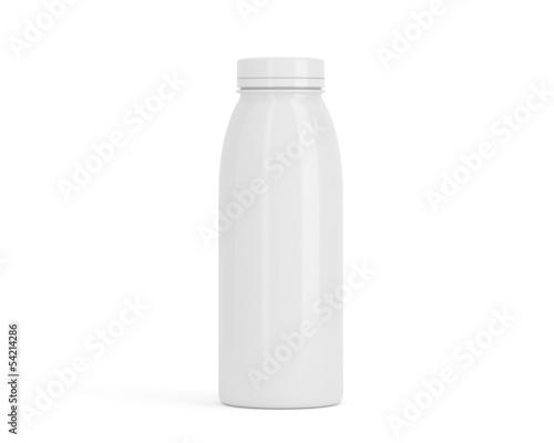 Flasche aus Porzellan klein