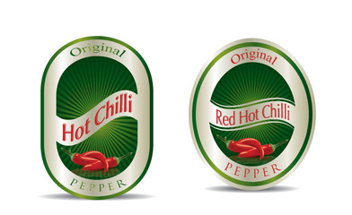 Label for a product (chilli sauce)