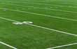 American Football Feld - 30 Yards Line on Football Field