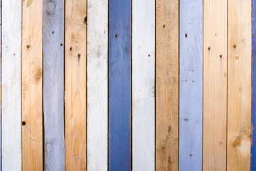 weathered wooden fence